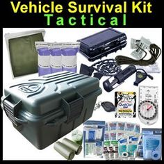 Tactical Vehicle Survival and Medical Kit  ( I don't know why everything has Tactical in the name?  )
