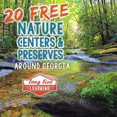 20 Free Nature Centers & Preserves to Explore in Georgia