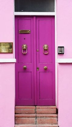 pretty pink door. Please like http://www.facebook.com/RagDollMagazine and follow Rag Doll on pinterest and @RagDollMagBlog @priscillacita https://www.bloglovin.com/blogs/rag-doll-13744543 subscribe to https://www.youtube.com/channel/UC-CB-g60FwQ4U1sJ3ur-Bug/feed?