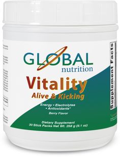 Vitality-Alive and Kicking!  30 packets