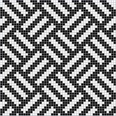 Crochet ideas that you'll love Tapestry Crochet Patterns, Weaving Patterns, Mosaic Patterns, Crochet Diagram, Crochet Chart, Filet Crochet, Knitting Charts, Knitting Stitches, Knitting Patterns