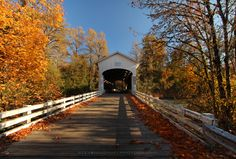 Pengra Crossing Covered Bridge by Steven Michael on 500px