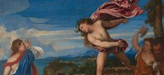Detail from Titian, 'Bacchus and Ariadne', 1520-3