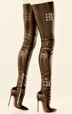 Get on your hands & knees at my feet Mark Shavick! Black High Boots, Leather High Heel Boots, Thigh High Boots Heels, Hot High Heels, Knee Boots, Crotch Boots, Nylons Heels, Sexy Boots, Fashion Boots