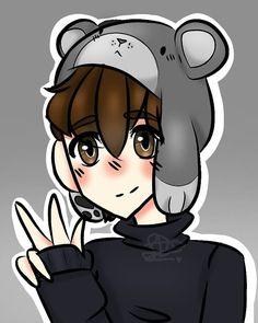 Per spero ti piaccia Lyon, Pixel Art, Fan Art, Drawings, Anime, Cute, Pictures, Youtubers, Minecraft