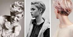 W tym sezonie zapanował trend na krótkie fryzury- eleganckie, praktyczne i uniwersalne. #włosy #fryzura #kobieta #trendy #moda #krótkie #cięcia #alternatywne #fryzury #awangardowe