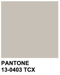 Pantone Tcx, Pantone Swatches, Color Swatches, Pantone Color Chart, Pantone Colour Palettes, Wall Colors, Grey Colors, Pastel Grey, Shades Of Beige