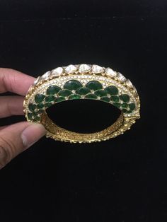 Fulfill a Wedding Tradition with Estate Bridal Jewelry Italian Gold Jewelry, 18k Gold Jewelry, Emerald Jewelry, Diamond Jewelry, Jewelery, Lotus Jewelry, Indian Wedding Jewelry, Indian Jewelry, Bridal Jewelry