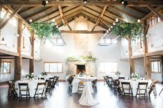 Greens & whites make the perfect pair for this reception   Ian's Chapel   Whim Floral   Lindsey Mueller Photography   Camp Lucy   Wedding Venue   Destination Weddings   Hill Country   Weddings   Wedding Inspiration  