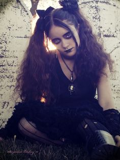That is Goth... I am not goth...