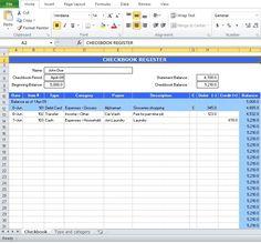 checkbook accounting