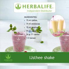Herbalife recept ijsthee shake