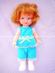 古董 娃娃 塑料 可爱 香港产
