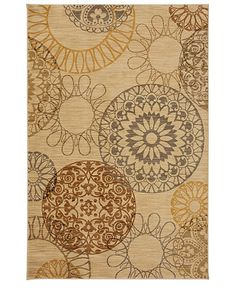 """""""Cute rug for living room. Maybe with tan/beige couches, brown coffee table"""""""