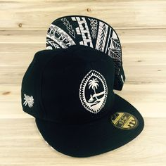 Tribe Brand Adult Tribal Guam Seal Snapback Hat