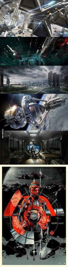 Amazing Ender's Game Concept Art