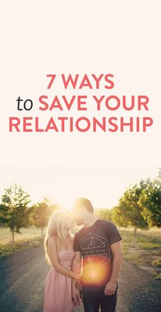 how to save your relationship if it's on the rocks
