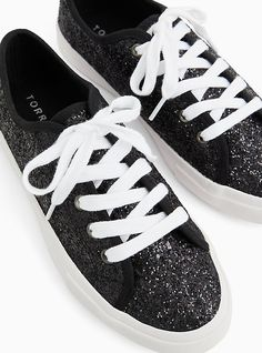 Sparkly Shoes, Bling Shoes, Metallic Sneakers, Wide Width Shoes, Long Toes, City Chic, On Shoes, Juicy Couture, Plus Size Women