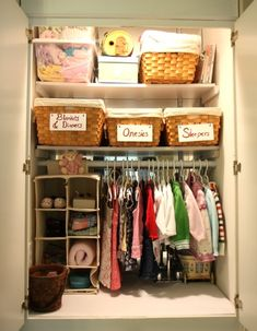 Although this isn't an especially attractive space, it fulfills a prime requirement for a well-organized space: Use ALL the space as efficiently as possible.