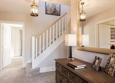 The Henley | Redrow Future House, My House, Redrow Homes, Entrance, Sweet Home, New Homes, Stairs, House Styles, Hallways