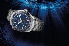 Đồng hồ lặn Omega 600 M - GMT