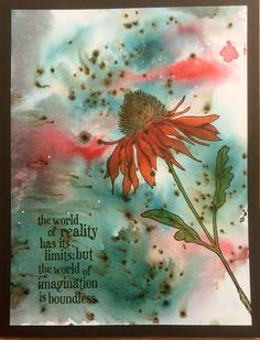 Wendy's Craft: Bister, Brusho and Tim Holtz...