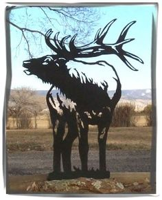 "Excellent ""metal art plasma"" information is offered on our web pages. Have a look and you wont be sorry you did. Metal Projects, Metal Crafts, Metal Tree Wall Art, Metal Art, Elk Silhouette, Laser Art, Corrugated Metal, Scroll Saw Patterns, Recycled Art"