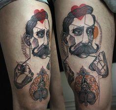 Geometric Tattoos by Peter Aurisch from Berlin