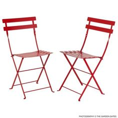 available in 23 colors! So much cuter than average folding chairs.