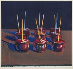Thiebaud, Wayne: Fine Arts, After 1945 in America | The Red List