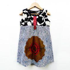 African Print Dress Little Girl Dress Girls by ALUMAhandmade,