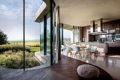 Nature, Nurture: A House by UNStudio Embraces the Dutch Landscape   Projects   Interior Design