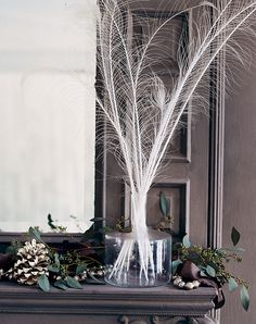 Country Living Martha Stewart Ralph Lauren Martha Stewart House & Home Traditional Home Nuevo Estilo Country Liv. Peacock Wedding Centerpieces, Estilo Country, Winter Table, Holiday Images, Home Wedding, Wedding Ideas, Wedding App, Wedding Themes, Summer Wedding