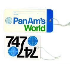 Pan Am Tags _ Alan Fletcher