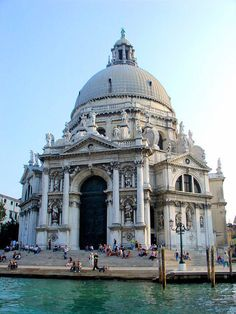 The Church of Santa Maria della Salute in Venice, Italy.