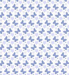 Blue Vector Pattern   ... thumb Beautiful Summer Seamless Butterfly Vector Pattern