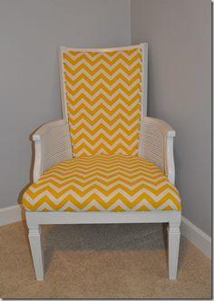 Refurbished chair!