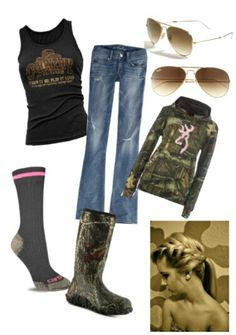 Browning outfit. Totally want that hoodie