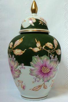 Portuguese Floral Pot
