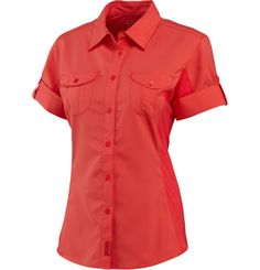 Women's Ophelia S/S Shirts - Details  Our lightweight Ophelia Opti-Wick™ short sleeve keeps you covered when you head out to explore warmer latitudes.
