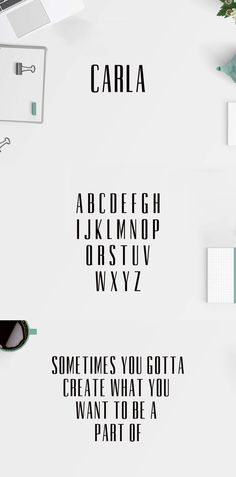 Free Carla #Sans #Serif #Demo Font is a lovely and unique font. It contains uppercase and numbers only. It suits best for clean designs, logos, headlines, etc. via @creativetacos