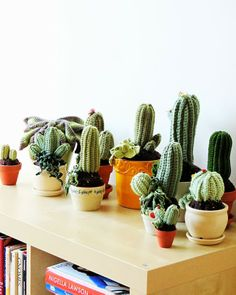 These crochet cactus might just be our new favorite thing!