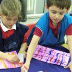 Robert Burns Activities Early Years - 'tartan'