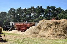 Steam Threshing at the 2016 Weeting Steam Engine Rally & Country Show. Vintage Farming. http://www.ktdesign-web.co.uk/blog/the-2016-weeting-steam-engine-rally-country-show