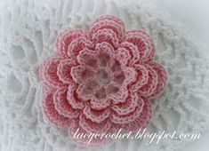 Lacy Crochet: Crochet Irish Rose