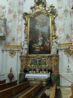 Basilika Ettal - Seitenaltar (3)