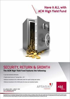 Axys Capital Management - ACM High Yield Fund. Info: 211 3305