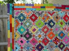 One of Freddy Moran's quilts...love it.