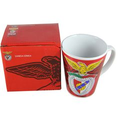 SL Benfica Coffee Mug With Gift Box Officially Licensed Product #Benfica