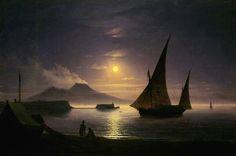 Ivan Aivazovsky Bucht von Neapel 1842 - Ivan Aivazovsky - Wikipedia, the free encyclopedia